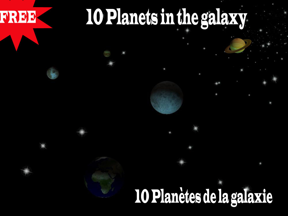 planets in are galaxy with names - photo #4