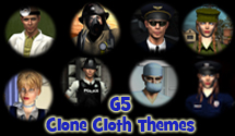 G5 Clone Cloth Themes